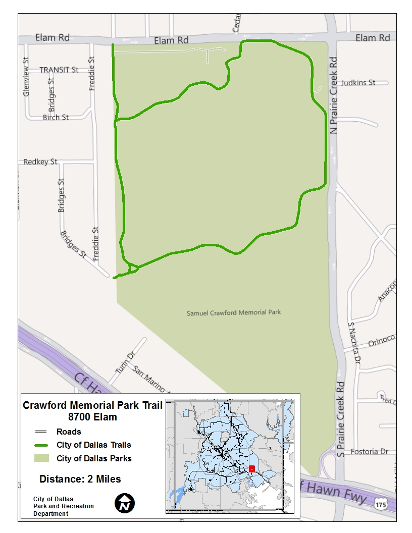 Crawford Park Trail Map