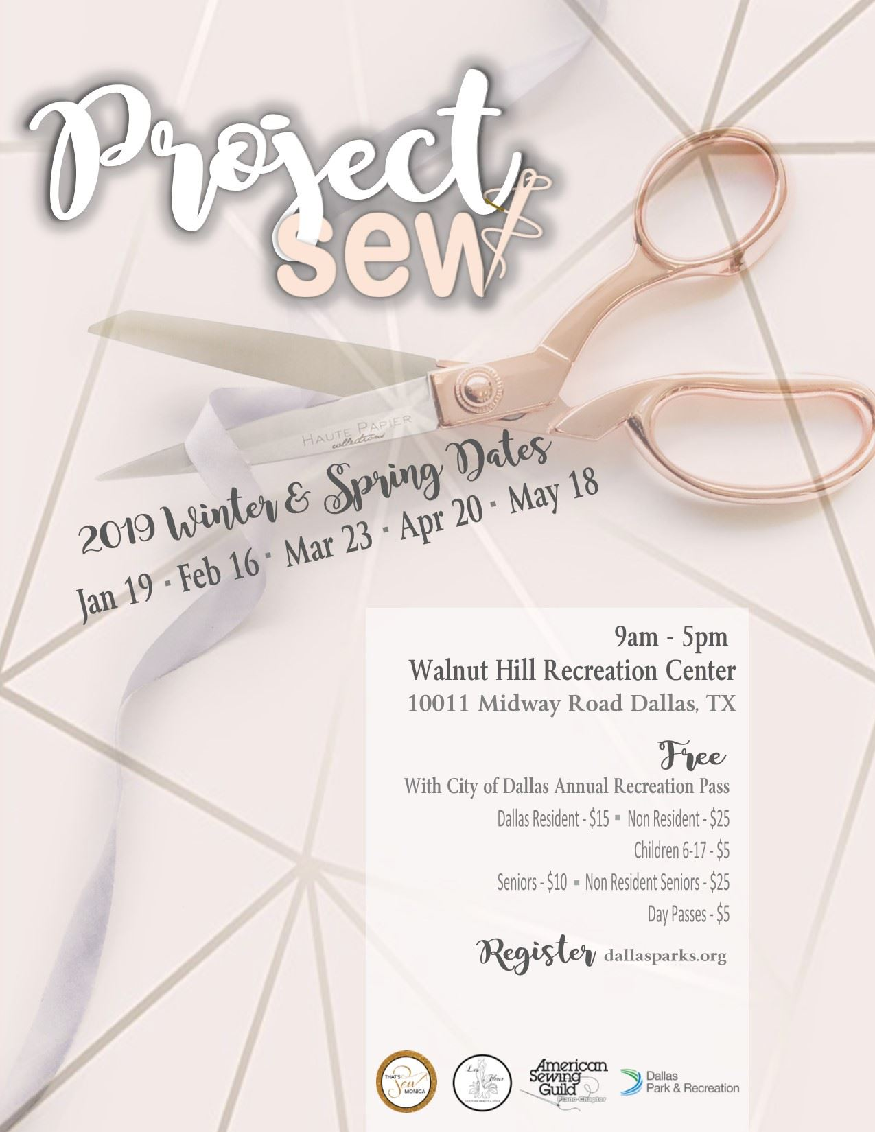 Project Sew 2019 Dates