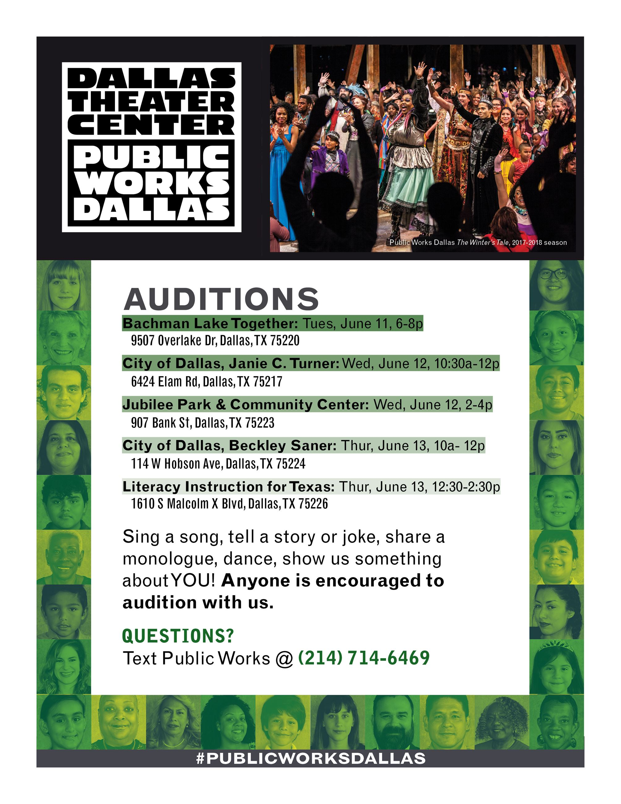 DTC Auditions