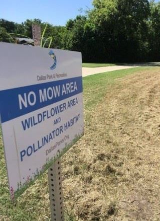Wildflower Sign