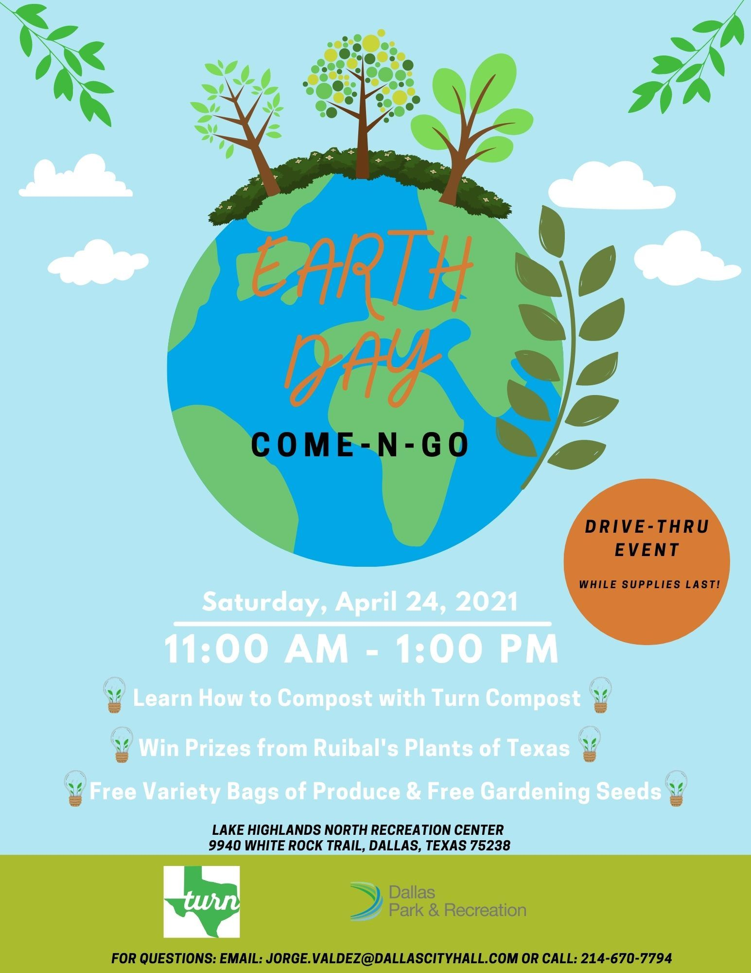 Lake Highlands North - Earth Day 2021