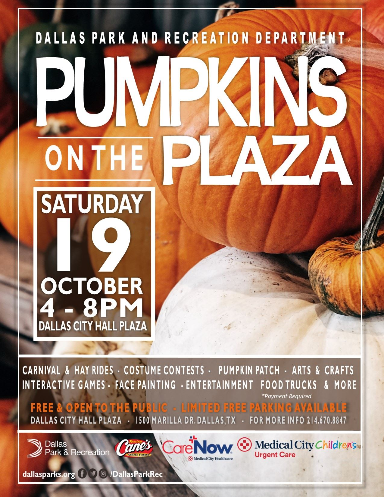Pumpkins on the Plaza Flyer