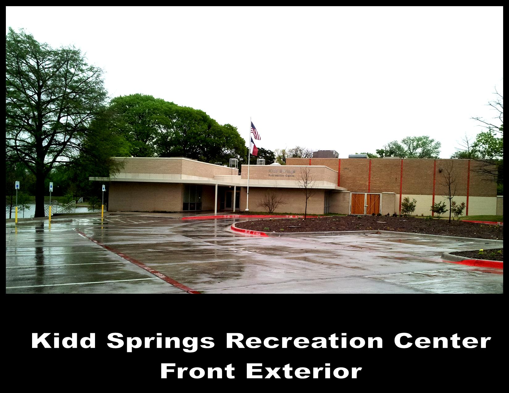 Kidd Springs Front Exterior