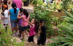 Children at the Texas Discovery Gardens